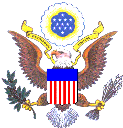 coat of arms and crest for united states of america